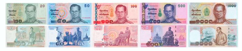 Деньги Тайланда, валюта тайланда, деньги Азия