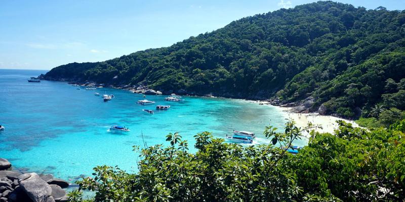 Какое море в Тайланде, море Таиланд, Тай море, море в Тае