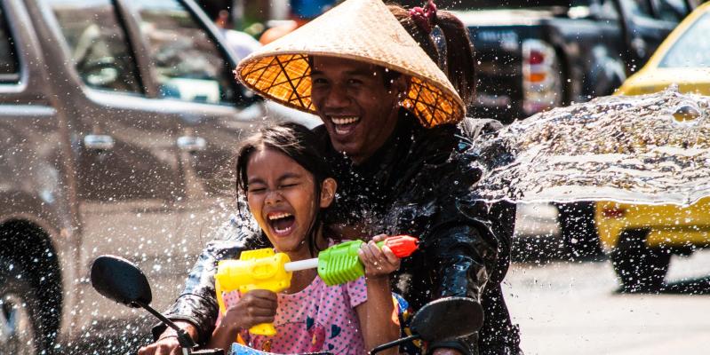 сонгкран, сокран, новый год в тайланде