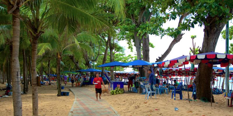 Донгтан пляж, пляжи Паттайи, Dongtan beach