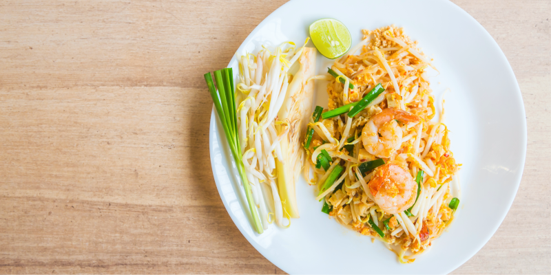 Пад Тай, Pad Thai, кухня таиланда, Блюда Тайланда