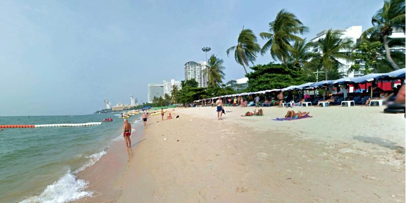 Pattaya beach, Паттайя бич, центральный пляж Паттайя