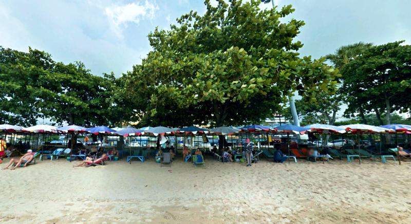 Джомтиен пляж, Jomtien beach