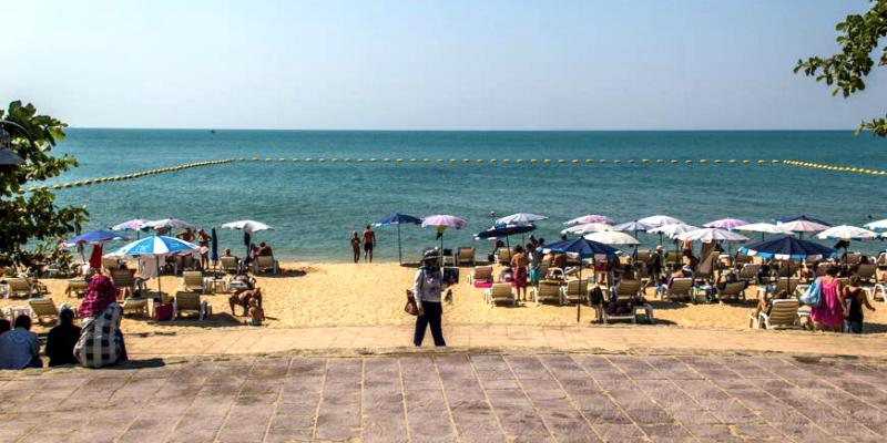 Pratamnak_beach, Пратамнак пляж, пляжи Паттайи, Паттайя