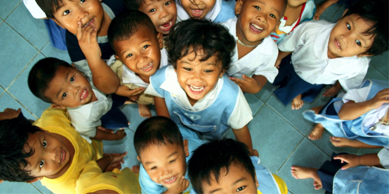 Улыбка тайцев, Улыбка Тайланд, Таиланд дети