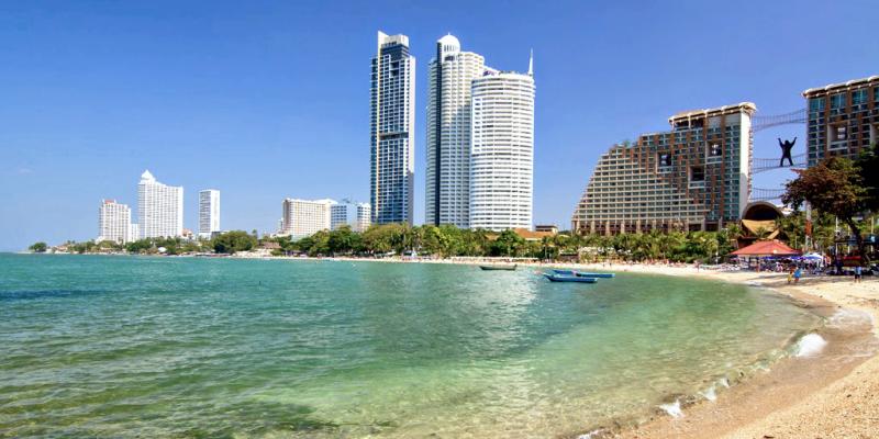 Vongamat beach, Вонгамат пляж, пляж Паттайя