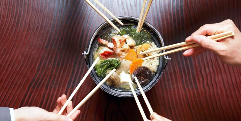 Чем едят в Тайланде, палочки китайские
