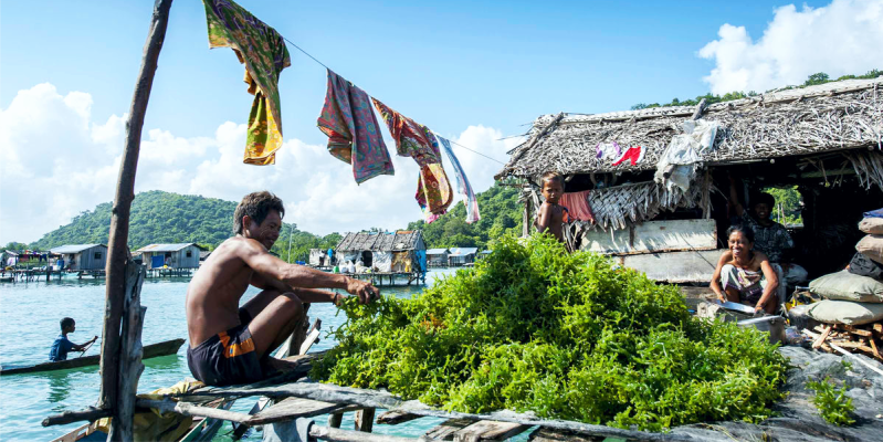 Деревня морских цыган, Ко Панье, Koh Panyee, морские цыгане
