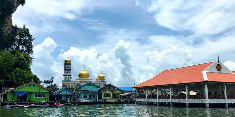 Мечеть деревня цыган, ко Панье, мечеть Ко Панье Пхукет