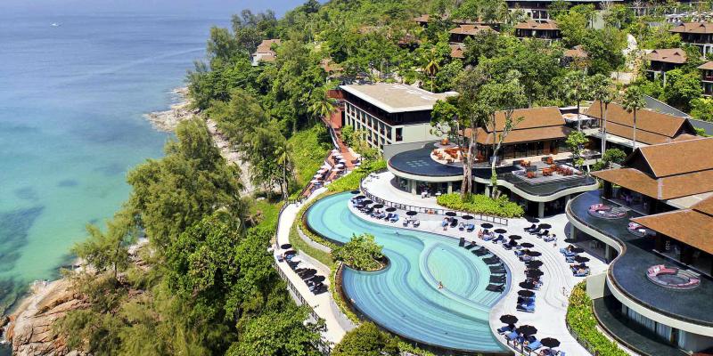 Отели Пхукета 5 звезд с собственным пляжем, Pullman Phuket Arcadia Naithon Beach 5*