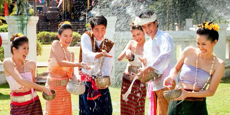 Сонгкран - новый год в тайланде