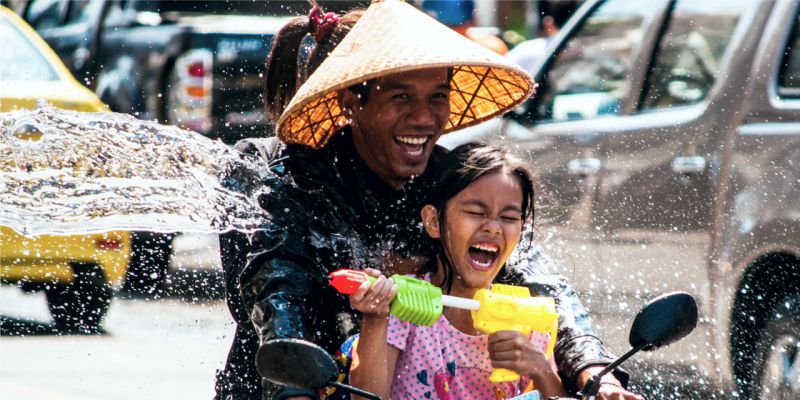 Тайский новый год, сонгкран, songkran, new year in thailand
