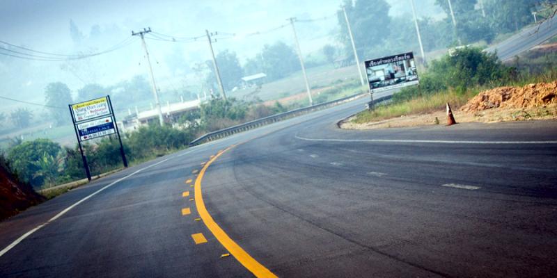 Дорога в Тайланде