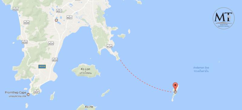 Остров Майтон Таиланд на карте, остров Майтон карта