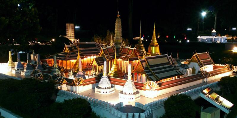 Парк Мини Сиам в Паттайе - цена за вход время работы