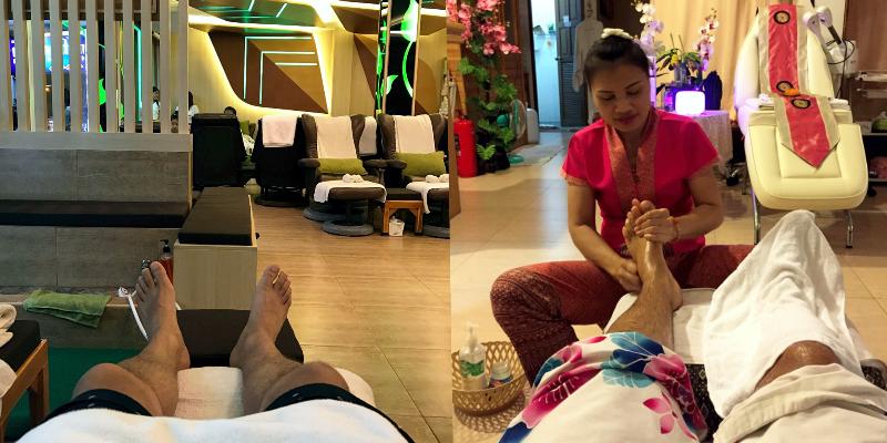 тайский массаж, массаж ног в Тайланде, foot massage