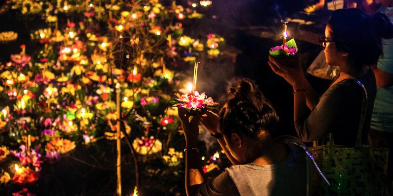 Фестиваль в Тайланде, Лой Кратонг, loi Krathong