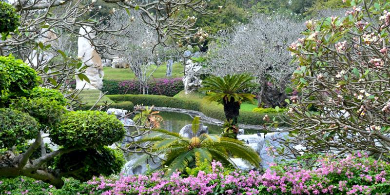 Сад камней Паттайя, Парк миллионолетних камней Паттайя, the million years stone park & pattaya crocodile farm, парк камней Паттайя, сад камней Таиланд