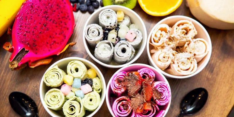 Тайский десерт, тайское мороженое