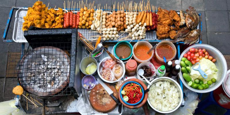 макашница в Тайланде, макашница, уличная еда Таиланд