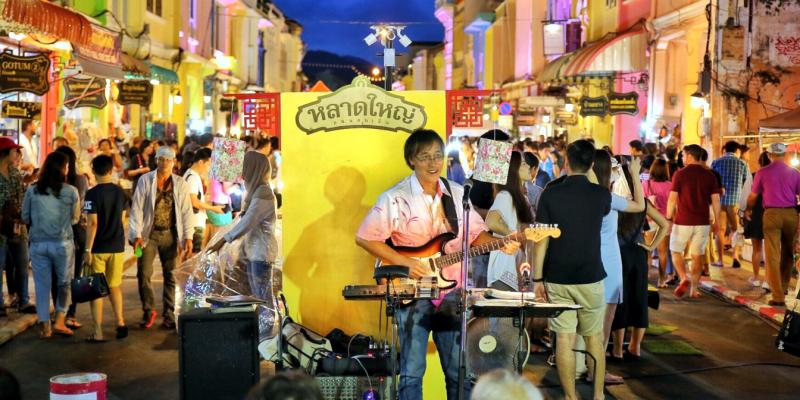 Рынок на Пхукете, базар Пхукет, Пхукет, Phuket, Thailand, Таиланд, ночной рынок пхукет