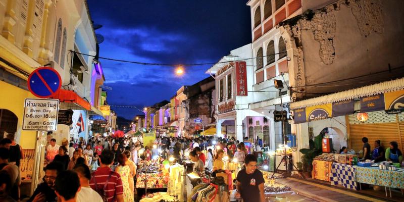 Пхукет, Phuket, Thailand, Таиланд, ночной рынок пхукет