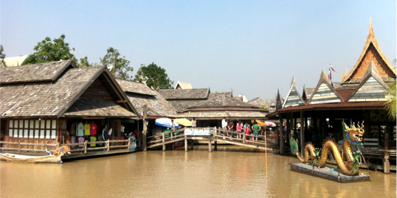 Floating – плавучий рынок