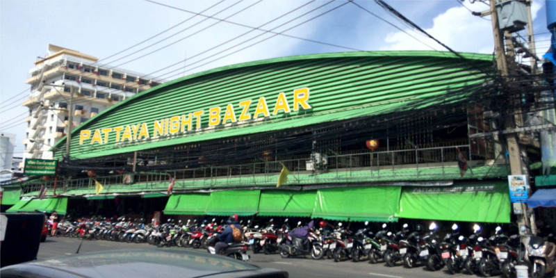 Рынки Паттайи, Pattaya Night Bazaar – ночной рынок в Паттайе