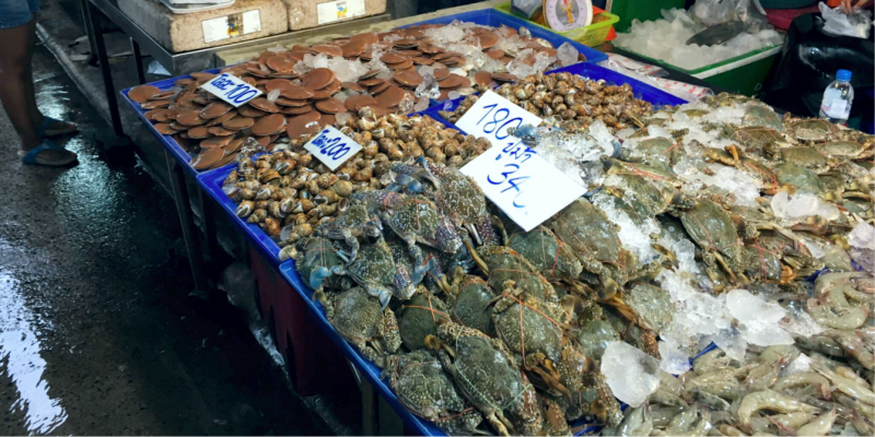 Naklua Fish Market – рыбный рынок в Паттайе