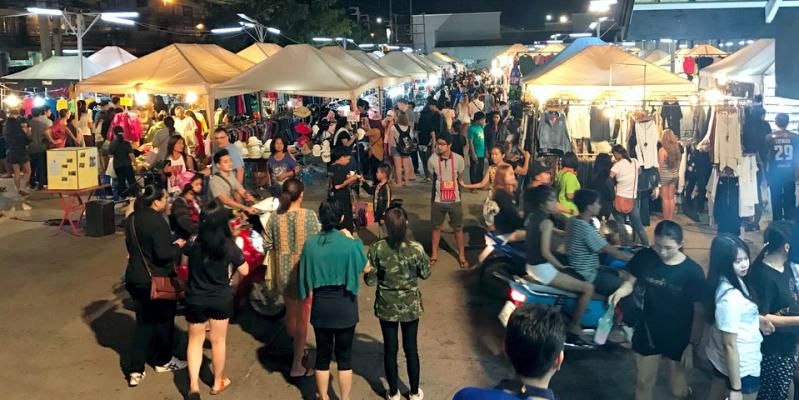 Рынок Tepprasit market – Тепразит в Паттайе