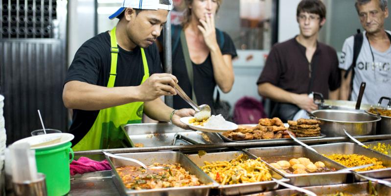 еда в Тайланде, дешевое питание в Тайланде, макашница