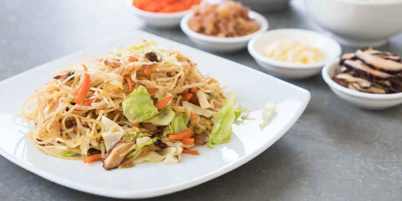 Лапша Пад Тай, тайская еда