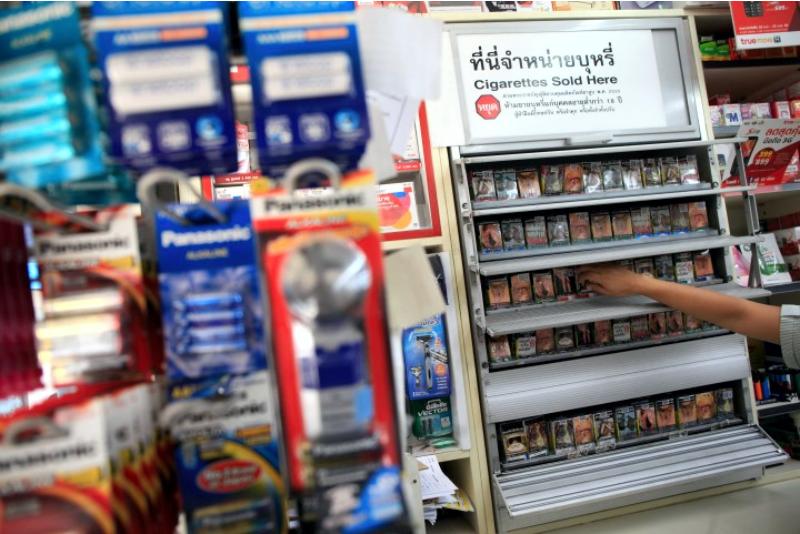 Тайские сигареты, сигареты в Тайланде, магазин сигарет