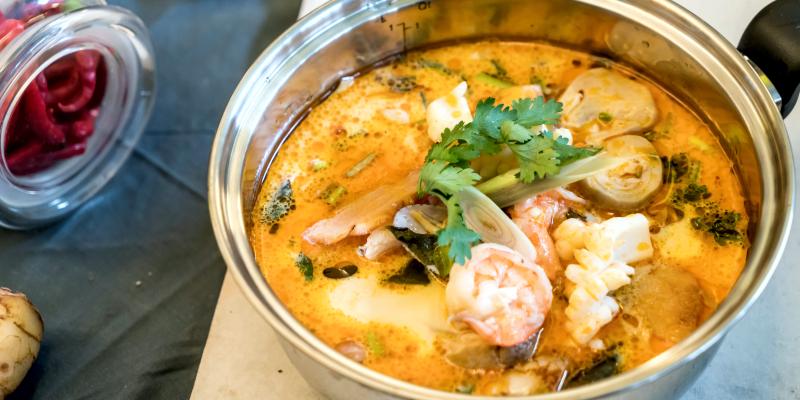 Там Ям, тайский суп, тайская еда