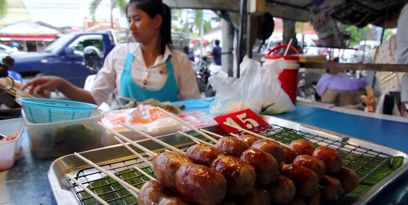 Тайская уличная еда, уличная еда Тайланда