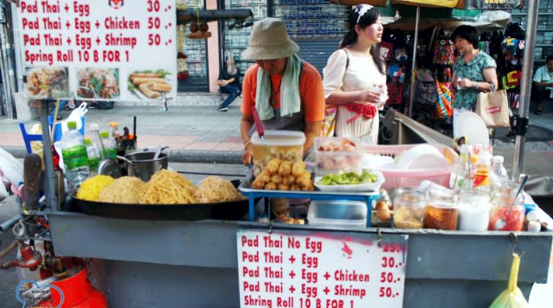 Макашница в Тайланде, тайская уличная еда, уличная еда в Тайланде