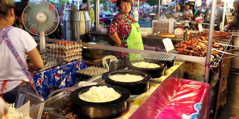 Уличная еда Тайланда, макащница в Таиланде