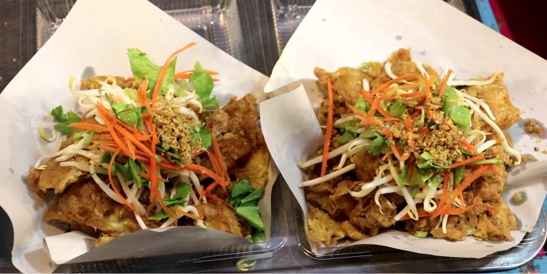 Уличная еда Таиланд
