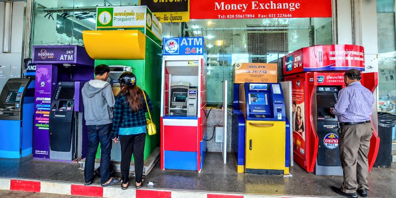 Снять деньги в тайланде с карты сбербанка