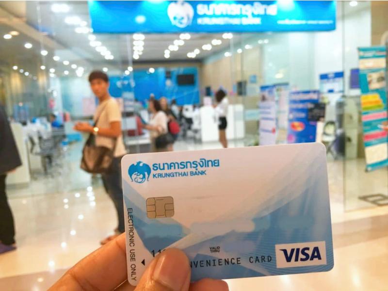 Карточка тайского банка, оплата картой в Тайлнаде