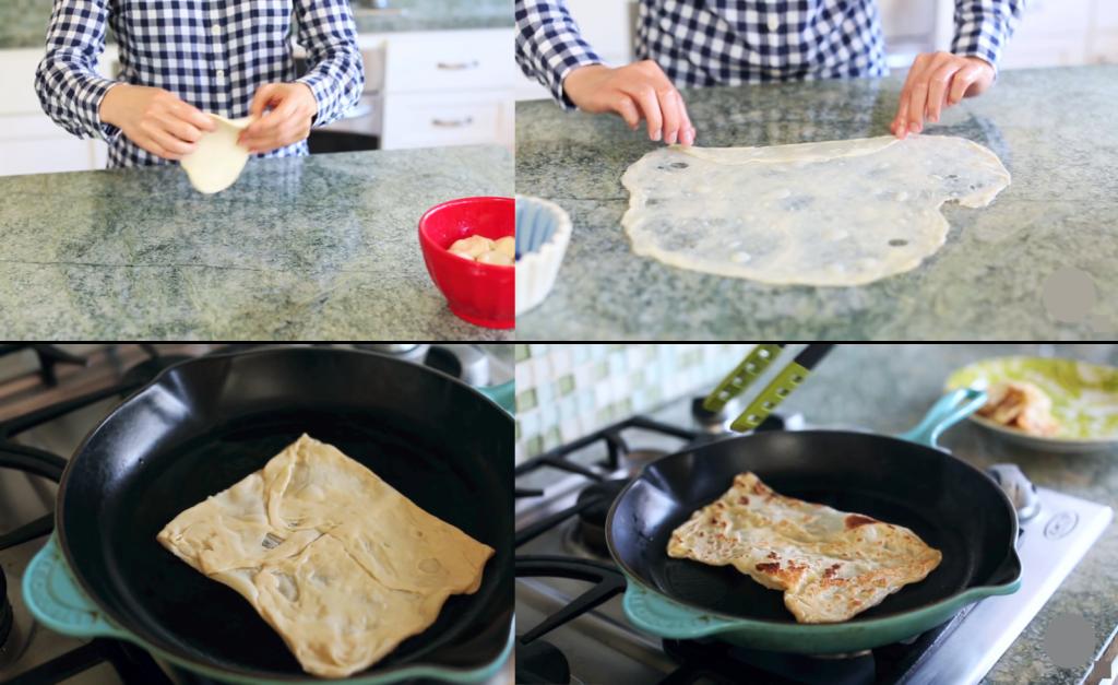 Рецепт приготовления тайских блинчиков Роти