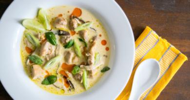 Том Кха Гай рецепт тайского супа
