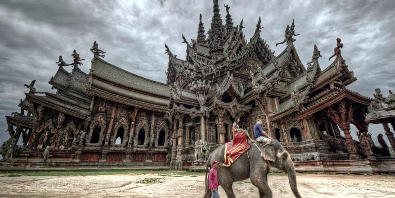 Храм Истины в Паттайе, Таиланд