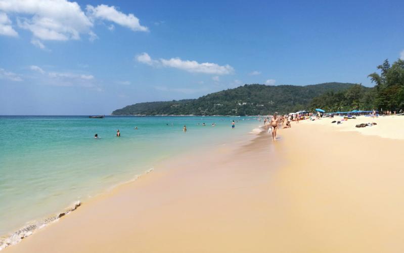Пляж Карон Пхукет Таиланд, Karon beach