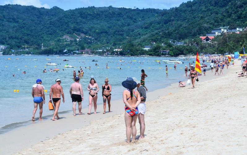 Пляж Патонг на Пхукете Patong Beach