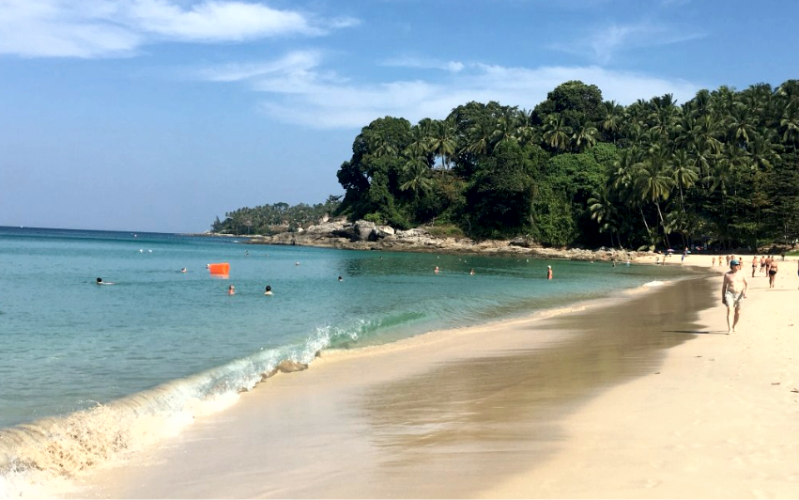 Пляж Сурин Пхукет Таиланд, Surin beach