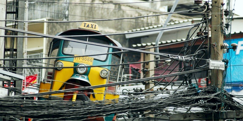 Такси в Таиланде, какое такси в Тайланде