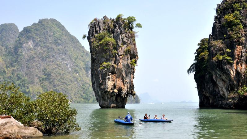 Остров Джеймса бонда в заливе Пханг Нга
