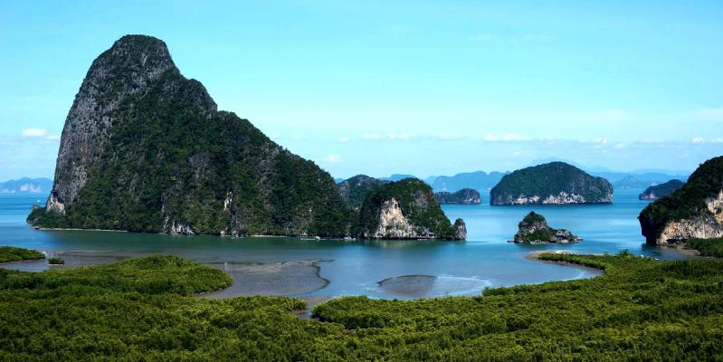 Залив и провинция Пханг Нга, заповедник пхангнга,Phang Nga