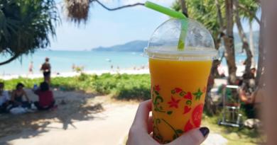Тайский смузи, смузи в Таиланде